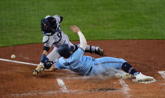 Toronto Blue Jays vs. New York Yankees - 9/8/20 MLB Pick, Odds, and Prediction