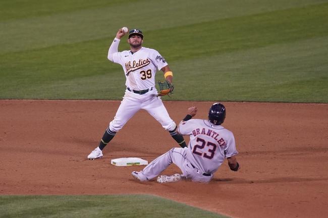 Houston Astros at Oakland Athletics Game 2 - 9/8/20 MLB Picks and Prediction