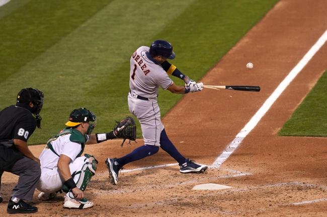Houston Astros vs. Oakland Athletics Game 1 - 9/8/20 MLB Pick, Odds, and Prediction