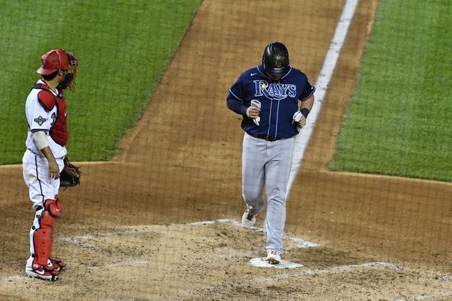 Washington Nationals at Tampa Bay Rays - 9/15/20 MLB Picks and Prediction
