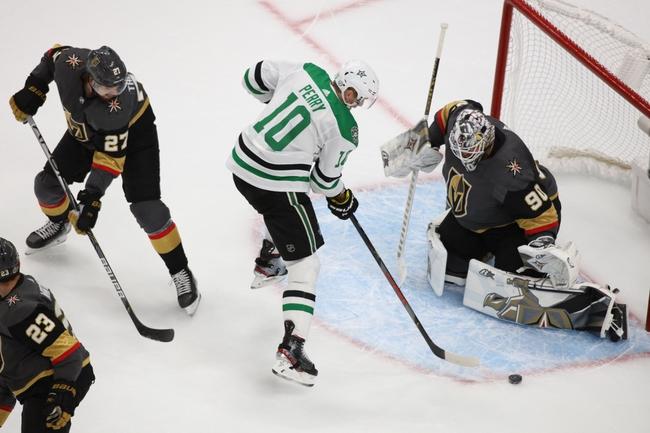 Vegas Golden Knights at Dallas Stars - 9/10/20 NHL Picks and Prediction