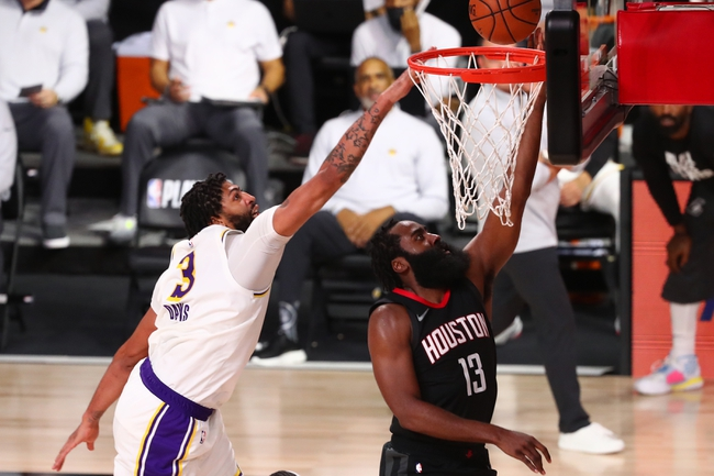 Houston Rockets vs. Los Angeles Lakers - 9/10/20 NBA Pick, Odds, and Prediction