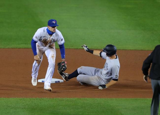 New York Yankees vs. Toronto Blue Jays - 9/15/20 MLB Pick, Odds, and Prediction
