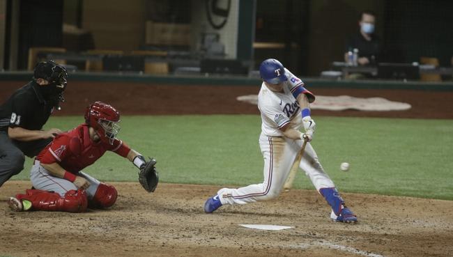 Texas Rangers vs. Los Angeles Angels - 9/10/20 MLB Pick, Odds, and Prediction