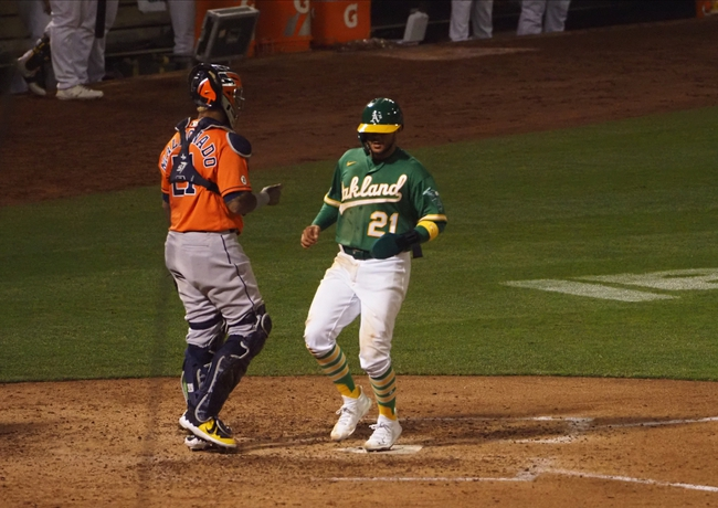 Houston Astros at Oakland Athletics - 9/10/20 MLB Picks and Prediction