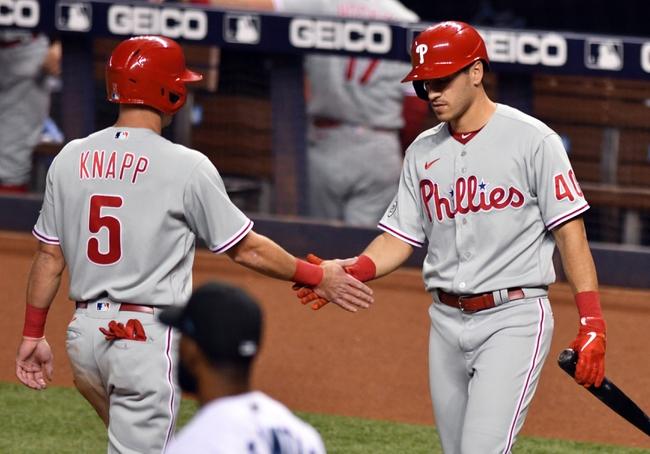 Philadelphia Phillies at Miami Marlins - 9/11/20 MLB Picks and Prediction