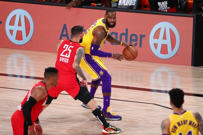 Los Angeles Lakers vs. Houston Rockets - 9/12/20 NBA Pick, Odds, and Prediction