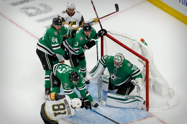 Vegas Golden Knights at Dallas Stars - 9/12/20 NHL Picks and Prediction
