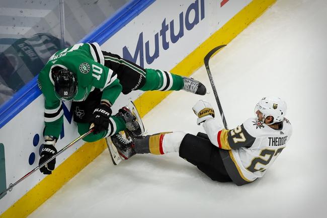 Dallas Stars vs. Vegas Golden Knights - 9/12/20 NHL Pick, Odds, and Prediction