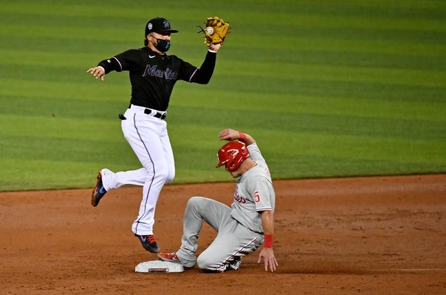 Philadelphia Phillies at Miami Marlins - 9/12/20 MLB Picks and Prediction