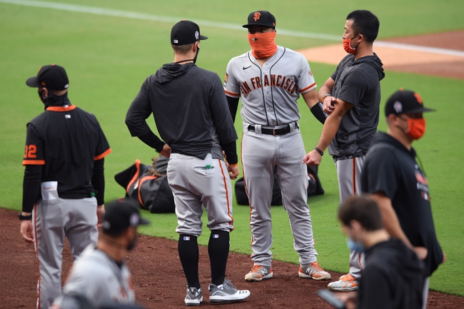 San Francisco Giants at San Diego Padres - 9/13/20 MLB Picks and Prediction