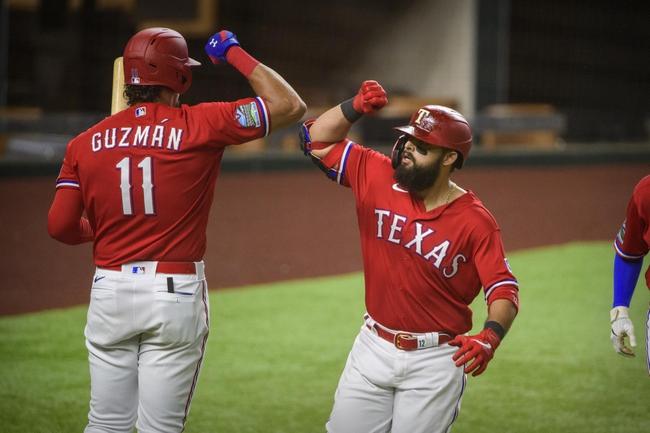 Oakland Athletics at Texas Rangers Game 2 - 9/12/20 MLB Picks and Prediction