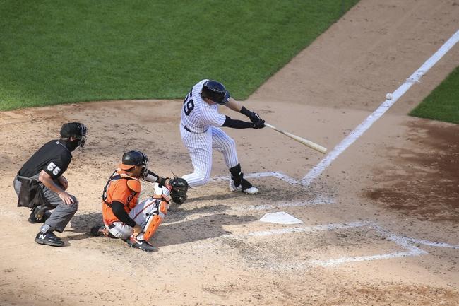 New York Yankees vs. Baltimore Orioles - 9/13/20 MLB Pick, Odds, and Prediction
