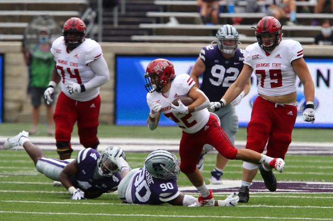 CFB: Arkansas State at Coastal Carolina: 10/3/20 College Football Picks and Predictions
