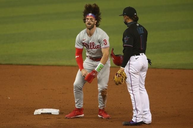 Philadelphia Phillies at Miami Marlins Game Two - 9/13/20 MLB Picks and Prediction
