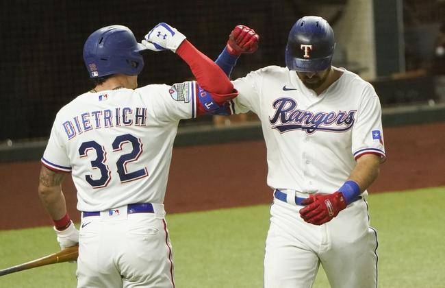 Oakland Athletics at Texas Rangers - 9/13/20 MLB Picks and Prediction