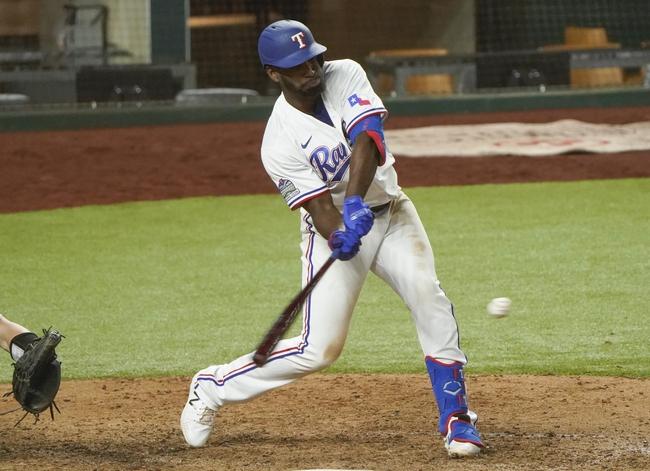 Texas Rangers vs. Oakland Athletics - 9/13/20 MLB Pick, Odds, and Prediction