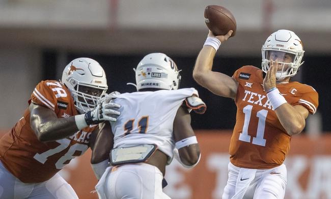 Big 12: TCU at Texas - 10/3/20 College Football Picks and Prediction