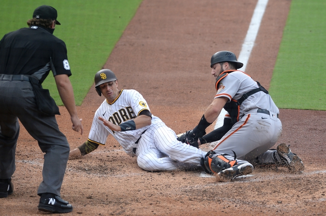 San Francisco Giants vs. San Diego Padres Game 2 - 9/25/20 MLB Pick, Odds, and Prediction