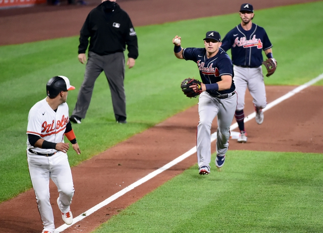 Atlanta Braves at Baltimore Orioles - 9/15/20 MLB Picks and Prediction