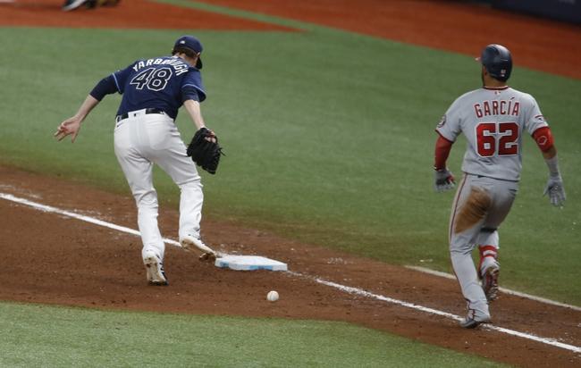 Washington Nationals at Tampa Bay Rays - 9/16/20 MLB Picks and Prediction