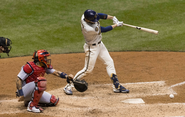 St. Louis Cardinals at Milwaukee Brewers Game Two - 9/16/20 MLB Picks and Prediction