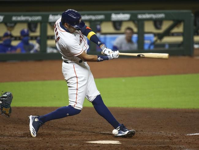 Houston Astros vs. Texas Rangers - 9/16/20 MLB Pick, Odds, and Prediction