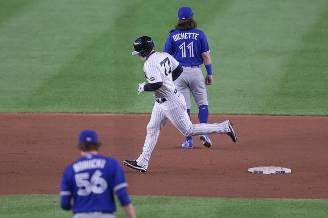 Toronto Blue Jays at New York Yankees - 9/16/20 MLB Picks and Prediction