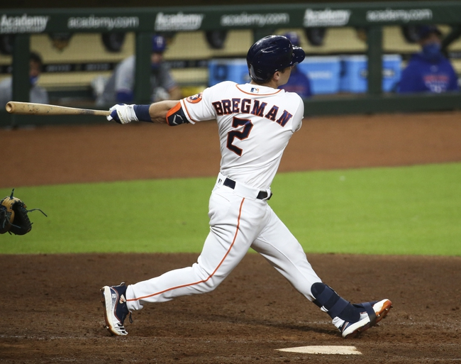 Texas Rangers at Houston Astros - 9/16/20 MLB Picks and Prediction