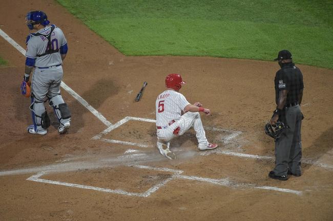 New York Mets at Philadelphia Phillies - 9/17/20 MLB Picks and Prediction