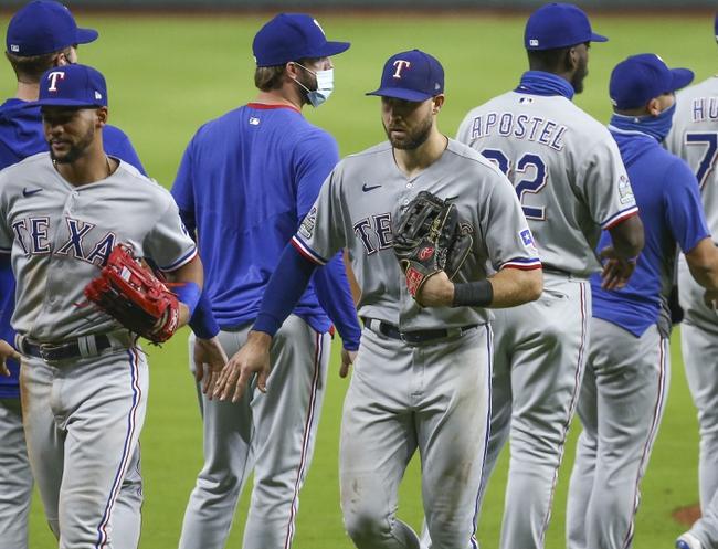 Texas Rangers at Houston Astros - 9/17/20 MLB Picks and Prediction