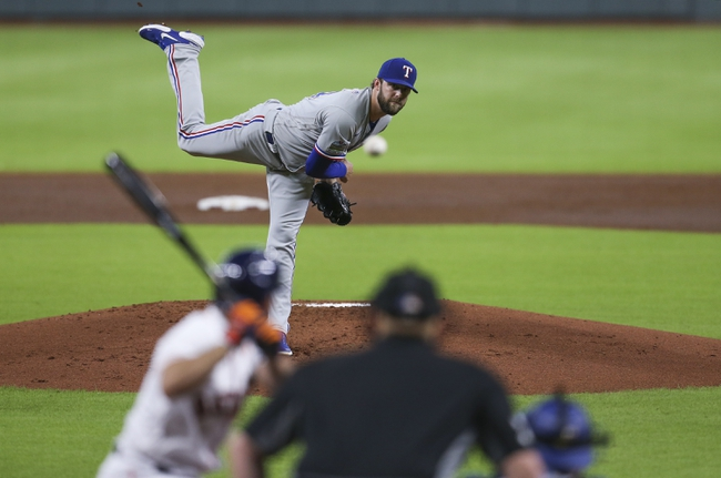 Texas Rangers vs. Houston Astros - 9/24/20 MLB Pick, Odds, and Prediction