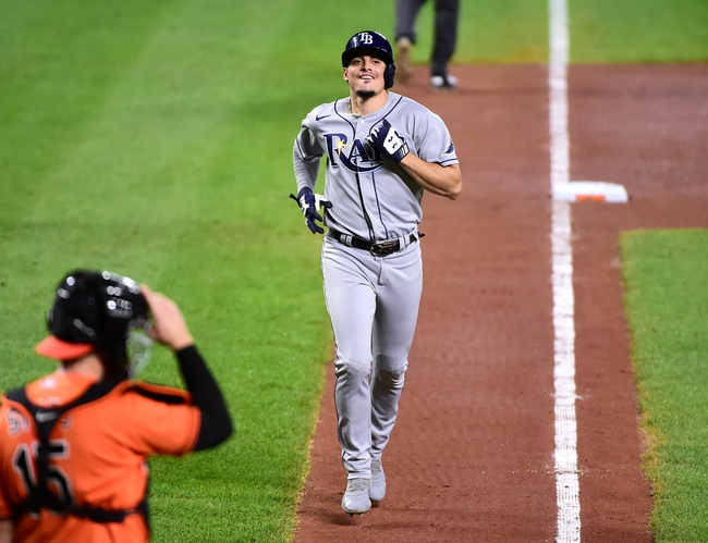 Tampa Bay Rays at Baltimore Orioles - 9/18/20 MLB Picks and Prediction