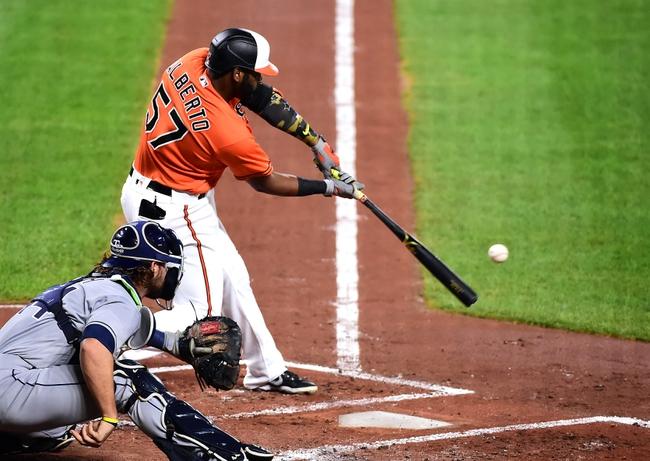 Baltimore Orioles vs. Tampa Bay Rays - 9/18/20 MLB Pick, Odds, and Prediction