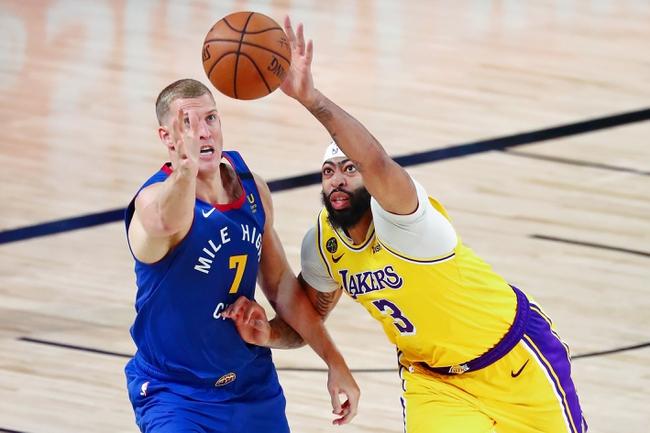 Denver Nuggets at Los Angeles Lakers - 9/20/20 NBA Picks and Prediction