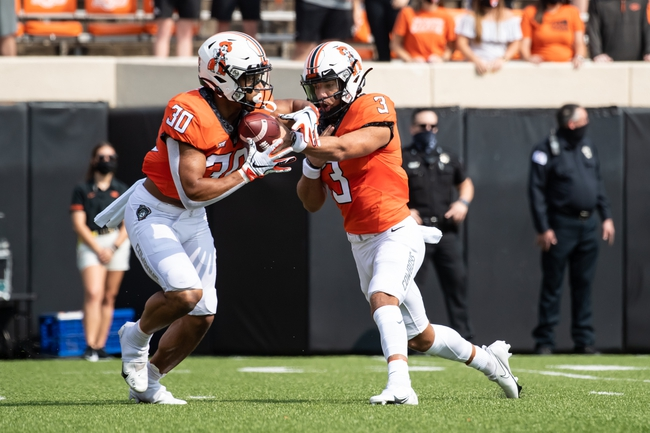 West Virginia at Oklahoma State - 9/26/20 College Football Picks and Prediction