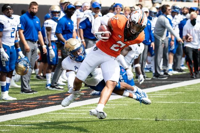 Big 12: Oklahoma State vs. West Virginia  College Football Picks,  Predictions, Odds 9/26/20