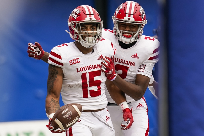Louisiana-Lafayette 'at Louisiana-Monroe: 11/28/20 College Football Picks and Prediction