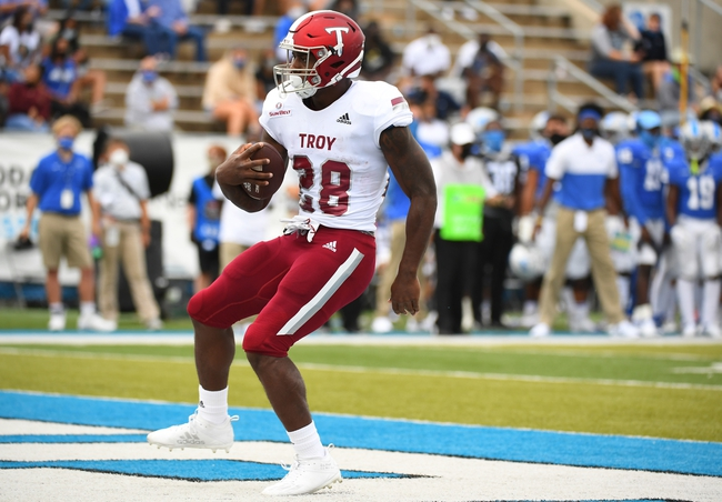 Troy at Georgia Southern - 11/7/20 College Football Picks and Prediction