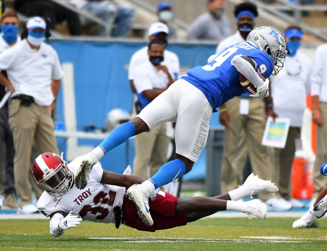 Canceled: Middle Tennessee vs Florida Atlantic College Football Picks, Odds, Predictions 11/28/20