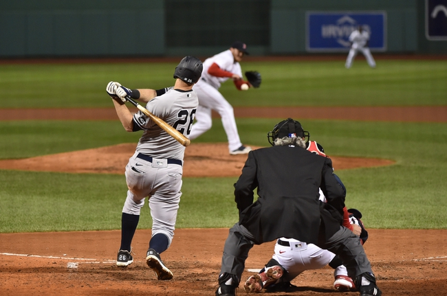 Boston Red Sox vs. New York Yankees - 9/20/20 MLB Pick, Odds, and Prediction