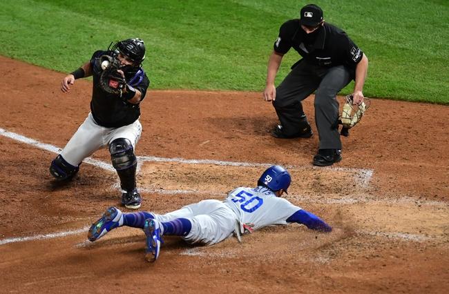 Dana Lane's Los Angeles Dodgers vs, Colorado Rockies ''Elite' Winner