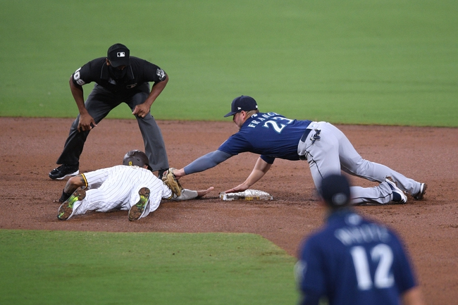 San Diego Padres at Seattle Mariners - 9/20/20 MLB Picks and Prediction