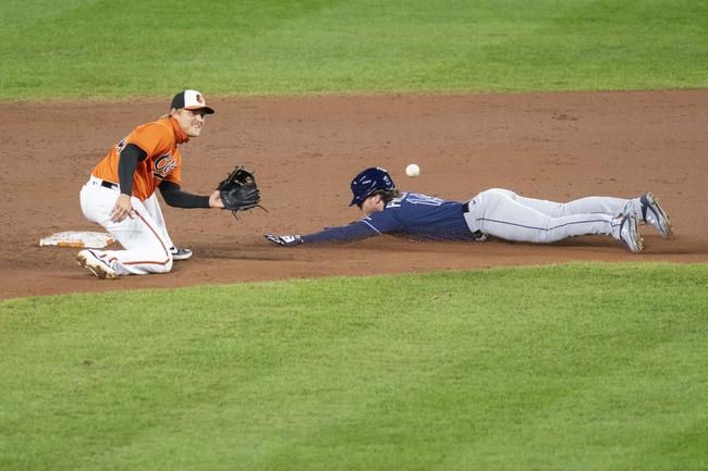 Tampa Bay Rays at Baltimore Orioles - 9/20/20 MLB Picks and Prediction