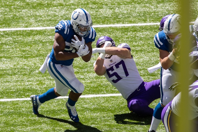 New York Jets at Indianapolis Colts - 9/27/20 NFL Picks and Prediction