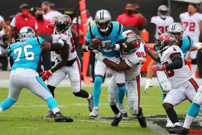 NFL NFC South Showdown Pick Tampa Bay / Carolina