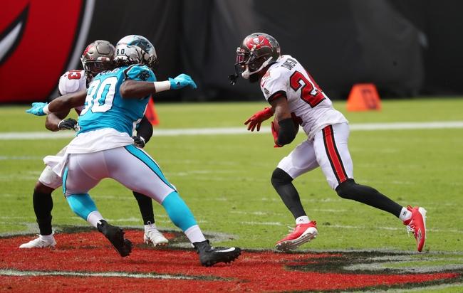 Tampa Bay Buccaneers at Carolina Panthers  11/15/20 NFL Picks and Predictions