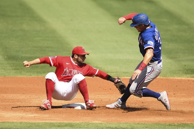 Texas Rangers at Los Angeles Angels - 9/21/20 MLB Picks and Prediction