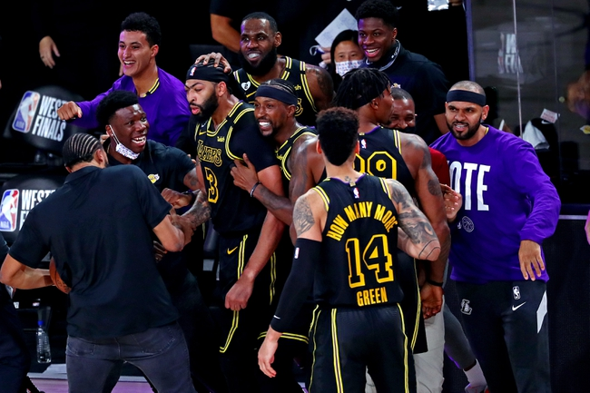 Denver Nuggets vs. Los Angeles Lakers - 9/22/20 NBA Pick, Odds, and Prediction