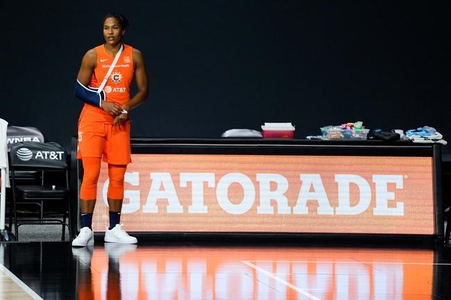 Las Vegas Aces vs. Connecticut Sun - 9/24/20 WNBA Pick, Odds, and Prediction